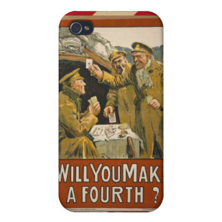 WWI Will You Make a Fourth? iPhone 4 Cases