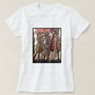 WWI Women Nursing Recruiters T-Shirt