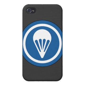 WWII Airborne CAP Patch iPhone 4/4S Cover