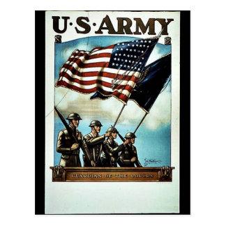 Wwii Army Recruit Postcard