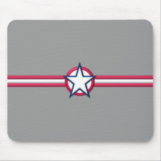 WWII Art Style Mouse Pad