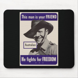 WWII Australian Mouse Pad