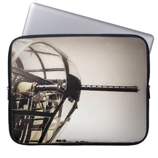 WWII B-25 Bomber Art Laptop Sleeve