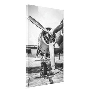 WWII C47 Transport Plane Pratt & Whitney R-1890 Canvas Print