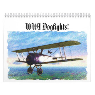 WWII Dogfights over Europe! Calendars