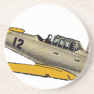 WWII Era Navy Plane Coaster