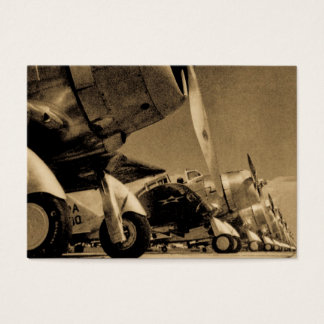 WWII Fighter Planes -Douglas SBD Dauntlesses Business Card