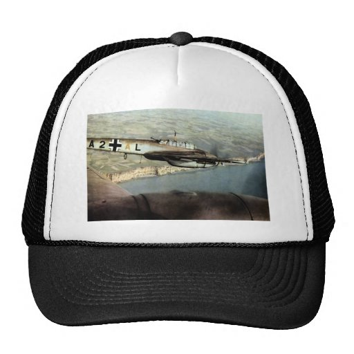 WWII German ME-110 over English Channel Hat