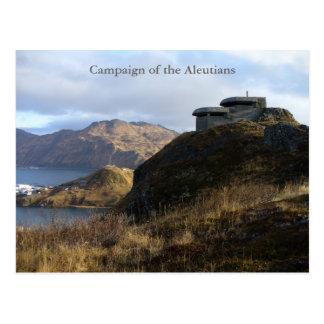 WWII Lookout Bunker, Unalaska Island Postcard