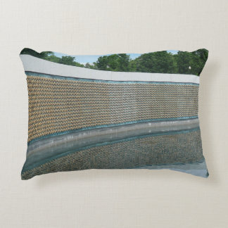 WWII Memorial Freedom Wall in Washington DC Accent Pillow