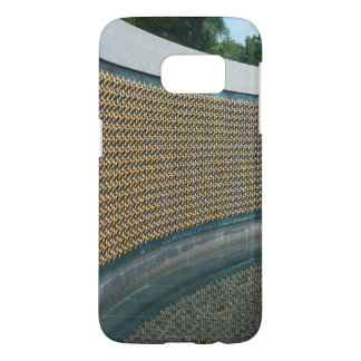 WWII Memorial Freedom Wall in Washington DC Samsung Galaxy S7 Case