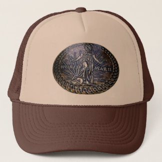 WWII Memorial Seal Trucker Hat