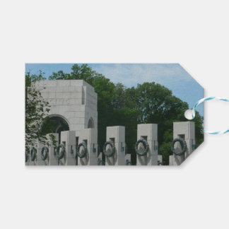 WWII Memorial Wreaths II in Washington DC Gift Tags