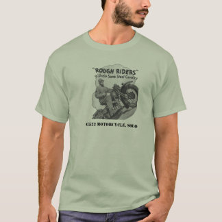 WWII motorcycle T-Shirt
