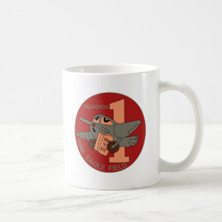 WWII Patch AAF 1 SQ 14th AAFFTD - 1st Squadron Mug