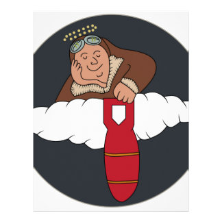 WWII Patch AAF 358BS 303BG 8AF 1 Letterhead