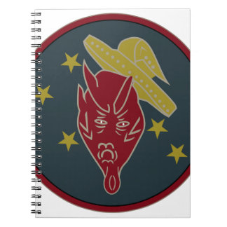 WWII Patch AAF 431-FS 475-FG 5th AF So Pacifi Note Book
