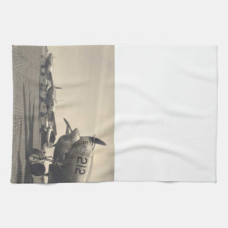 WWII planes Kitchen Towel