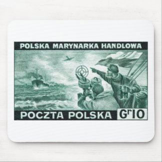 WWII Polish Merchant Navy Mouse Pad