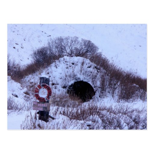 WWII Quonset Hut in Winter, Unalaska Island Post Cards