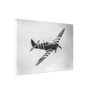 WWII RAF Supermarine Spitfire Canvas Print