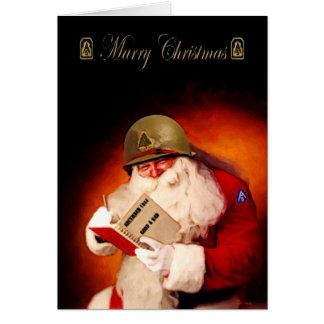 WWII Santa Card