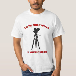 WWII Stars and Stripes Press Corps Shirt