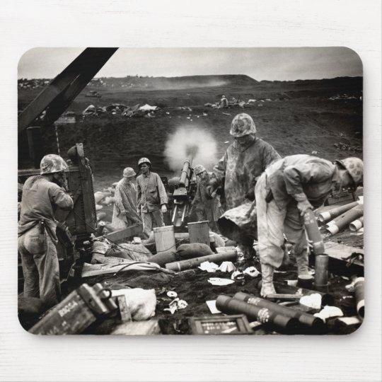 WWII US Marines on Iwo Jima Mouse Pad