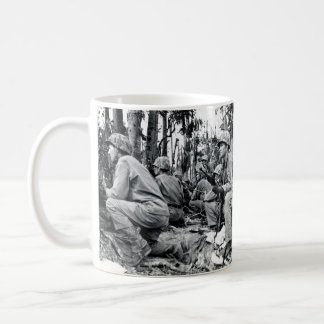 WWII US Marines on Peleliu Coffee Mug