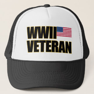 WWII Veteran Trucker Hat