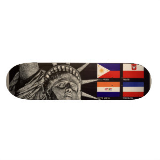 WWII Vintage Poster Skateboard