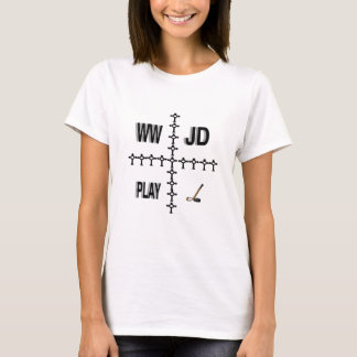 WWJD Hockey T-Shirt