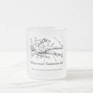 WWTD? FROSTED GLASS MUG