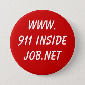www.911 InsideJob.net 3 Inch Round Button