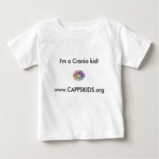 www.CAPPSKIDS.org, I'm a Cranio kid! Baby T-Shirt