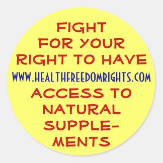 www.healthfreedomrights.com stickers