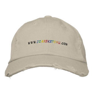www.icansketchu.com  Military Support Our Troops Embroidered Baseball Cap