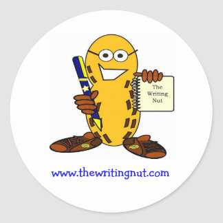 www.thewritingnut.com sticker