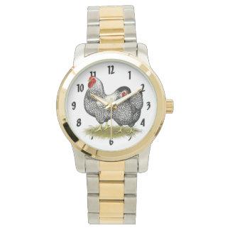 Wyandotte:  Silver Pair Wristwatches