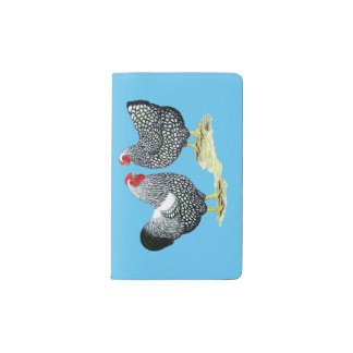 Wyandottes Silver-laced Pair Pocket Moleskine Notebook
