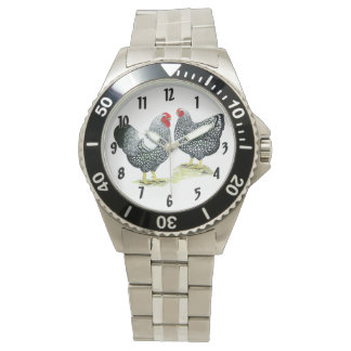 Wyandottes Silver-laced Pair Watches