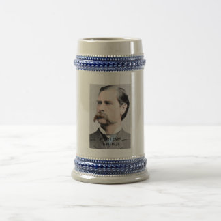Wyatt Earp Commemerative Beer Stein