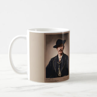 Wyatt Earp, Young and Old Coffee Mug