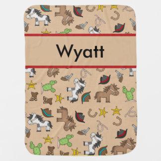 Wyatt's Cowboy Blanket