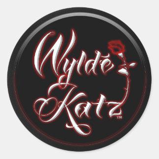 Wylde Katz Band Hot Rockin' Stickers