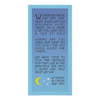Wynken, Blynken, and Nod Poster