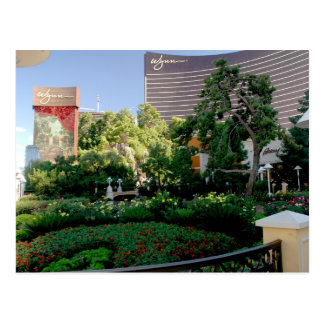 Wynn Hotel and Casino Postcard