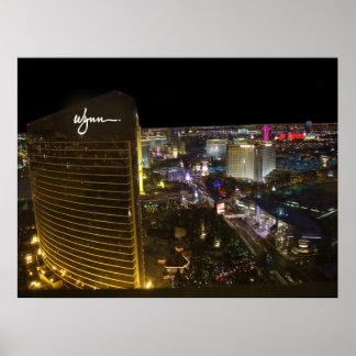 Wynn Las Vegas Aerial Poster