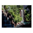 Wynn waterfall postcard