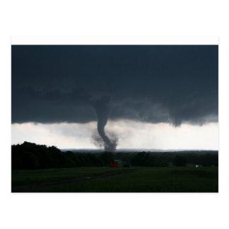 Wynnewood, OK EF4 Tornado Postcard